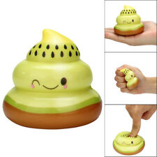 Squishy Kawaii Kiwi Fruit Funny Poo Slow Rising Cream Scented Stress Relief Toy