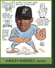 2009 Upper Deck Goudey Mini Green Marlins Baseball Card #282 Hanley Ramirez HU