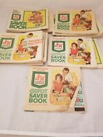 Lot Vintage S&H Green Stamps 16 Full Books & 1 Partial