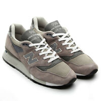"""NEW BALANCE SHOES M998 GREY """"BRINGBACK"""" COLLECTION MADE IN THE USA"""