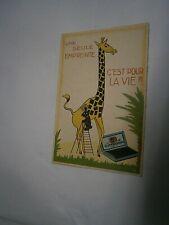Belgique: CPA carte postale publicitaire papeterie Gimborn Bruxelles