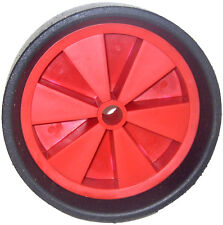 4 X SOLID WHEELS FOR CREEP FEEDERS Sheep Feeder Moulded 20mm Plastic Creeper