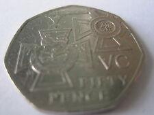 2006 -  50P COIN_VC VICTORIA CROSS COMMEMORATIVE COIN