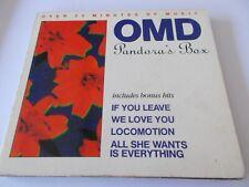 OMD / ORCHESTRAL MANOEUVRES IN THE DARK-PANDORA'S BOX - OZ 5 TRK CD - DIGIPAK