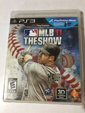 MLB 11 THE SHOW (PS3) PlayStation 3 RATED E. 3D COMPATIBLE GAME