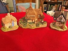 Three Lilliput Lane Houses Gertrude's Garden Rowan Lodge & Sweet Pea Cottage