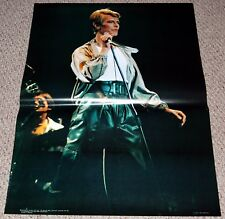 DAVID BOWIE #6 In Concert JUMBO 29x39 Poster 1979 Personality England 1241