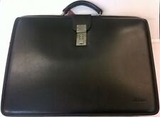 Jack Georges Platinum Special Edition Lawyer Classic Leather Briefcase - 8005