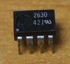 5 x Opto-coupleur HP 2630 Hewlett-Packard double optocoupler HPCL 2630 NOS