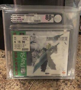 Final Fantasy VII 7 Greatest Hits PlayStation  PS1 FACTORY SEALED VGA 80+