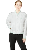 New Balance Women's Essentials Stadium Jacket White Size Medium New With Tags