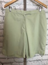 Coral Bay Green Golf Shorts Size 14 Women's Swing Stretch