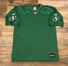 Saskatchewan Roughriders Vintage Puma CFL Canadian Football Jersey Mens Large L