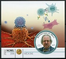 Mali Nobel Prize Winners Stamps 2018 MNH Medicine James P. Allison 1v M/S