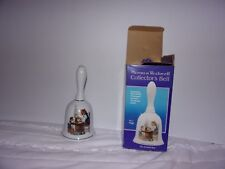 Norman Rockwell Collector's Bell 1985 / For A Good Boy, Genuine Porcelain / New