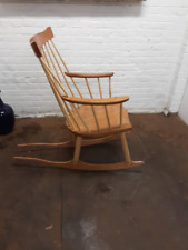 Handmade Oak chair / cherry Rocking Chair style