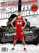 NEW Sports Illustrated Frank the Tank Kaminsky 2015 No Label (charlotte hornets)