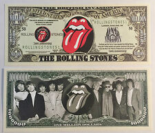RARE The Rolling Stones Million Novelty Note Music. Buy 5 Get One