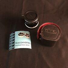 Soligor Auto Tele Converter 3x To Fit Konica FTA With Caps and Case