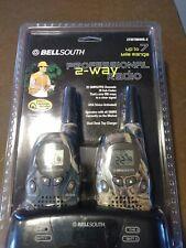 Bellsouth Walkie Talkies 2 Way Radio 22 channel 7 mile range