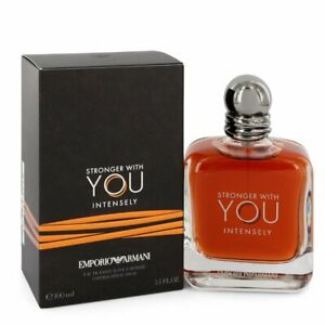 Emporio Armani Stronger With You Intensely 100ml Eau de Parfum Intensly NEU