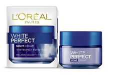 2 x L'Oreal White Perfect Fairness Revealing Soothing Night Cream  50 GM