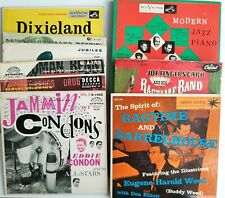 "Jazz Big Band Pop Record Lot 45 rpm 7"" Ep 45rpm Ragtime Jazz Piano Dixieland"