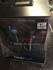 Beats Tour2 Wired In-Ear Headphone, Active Collection - Flash Blue Open Box