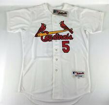 Albert Pujols #5 St. Louis Cardinals Baseball Jersey Majestic White - Size 48