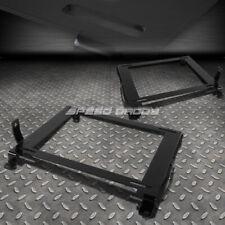 FOR 06-11 CIVIC FG/FA 2X LOW MOUNT RACING/BUCKET SEAT BASE TENSILE STEEL BRACKET