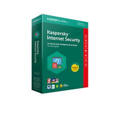 Kaspersky Internet Security 2018 MD 3 licencias