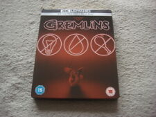 "Blu ray steelbook ""Gremlins"" Zone free (no disc 4K)"