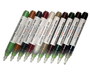 LAND ROVER Leather TOUCH UP Pen Dye Pigment Paint Colour Repair ALL COLOURS