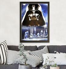Original spray painting art, hand made Star Wars, Darth Vader in New York