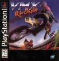 VMX Racing Playstation Game PS1 Used Complete