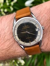 Universal Geneve Polerouter Date Cal 215 - 2 TROPICAL! Micro Rotor Vintage Rare
