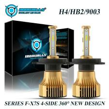 4sides H4 9003 HB2 LED Headlight Kit Bulbs for Honda Toyota Nissan High Low Beam