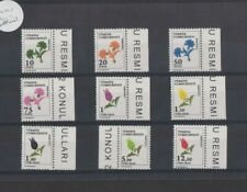 TURKEY 2017 Official Stamps - Flowers set MNH as scan