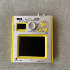 KORG KAOSSILATOR Dynamic Phrase Synthesizer Audio yellow