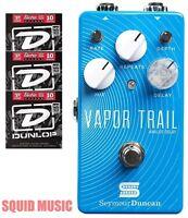 Seymour Duncan Vapor Trail Analog Delay ( 3 Free Sets Of Dunlop Guitar Strings )
