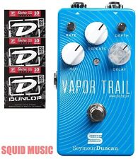Seymour Duncan Vapor Trail Analog Delay ( 3 Free Sets Of Dunlop Guitar Strings )