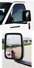 VELVAC 714558 - Mirror - 2020 Standard Head, Black, Manual Flat Glass, Wedge Con