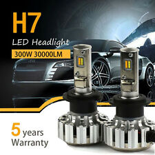 H7 300W 30000LM PHILIPS Chips Car 6000K/3000K LED Headlights Bulbs Dual Color