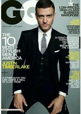 GQ Magazine Justin Timberlake March 2009 New Sealed in Original Bag Never Opened