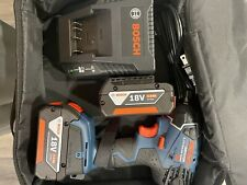 """Bosch 18V Li-Ion 3/8"""" Impact Wrench IWH181; 2 Batteries & Charger"""