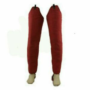 RED  Padded Full Leg Medieval Gambeson