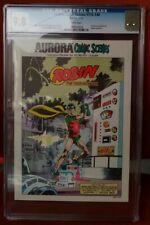 Aurora Comics Scenes#193-140 CGC 9.8 1974 Robin cover C6 495 model kit booklet