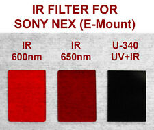 Hoya U-340/ U-360 Filter for SONY NEX 3 5 6 7 low pass UV+IR infrared replacemnt