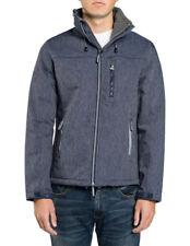 NEW Superdry Windtrekker Jacket Grey
