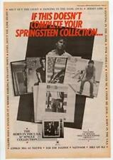 Bruce Springsteen Collection Advert NME Cutting 1985
